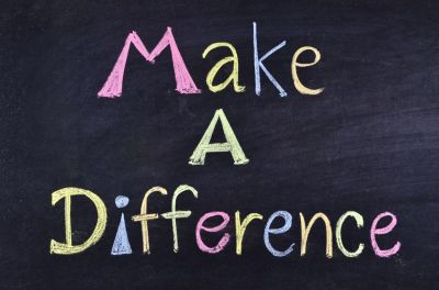 You can Make a Difference...